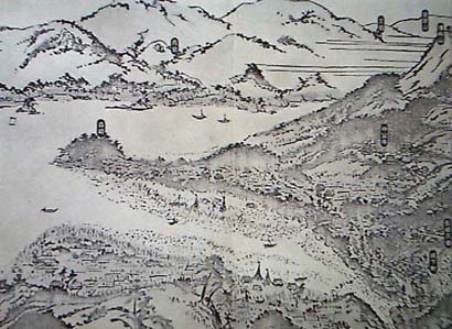 開港当時の長崎