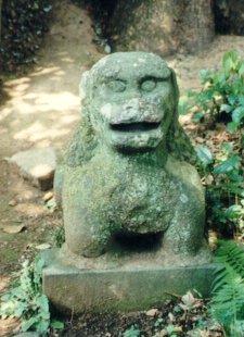 石造り狛犬